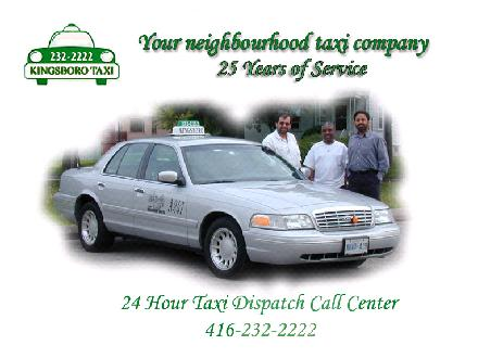 Kingsboro Taxi Ltd (416-232-2222) - Website thumbnail - http://www.kingsborotaxi.com
