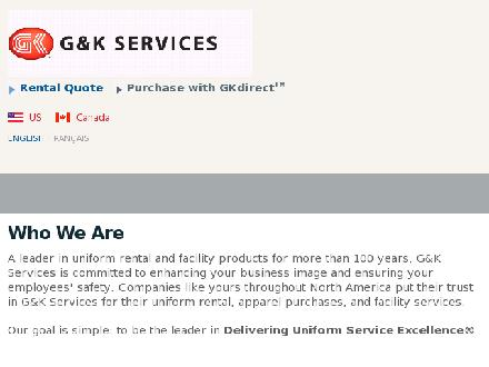 G&K Services (902-455-9748) - Website thumbnail - http://www.gkservices.ca