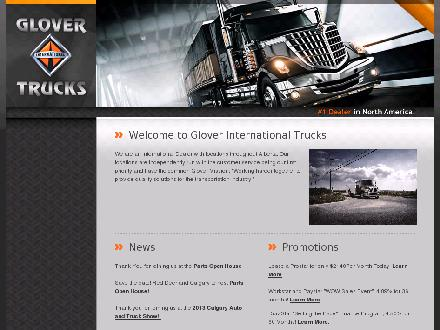 Glover International Trucks Ltd - Onglet de site Web - http://www.glover-ace.com