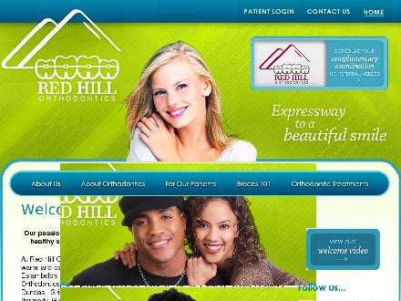 Red Hill Orthodontics (905-549-4746) - Website thumbnail - http://www.redhillortho.ca