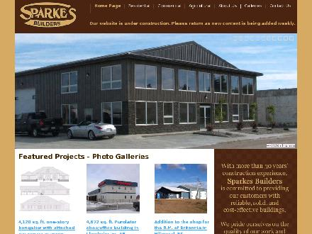 Sparkes Farm Systems Ltd (780-875-9278) - Onglet de site Web - http://www.sparkesbuilders.ca