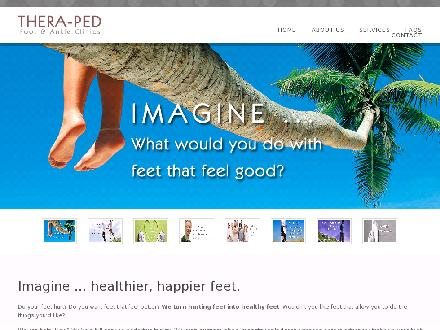 Thera-Ped Ltd (506-632-9397) - Website thumbnail - http://www.theraped.com