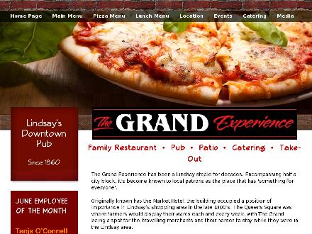 Grand Experience Family Restaurant The (705-324-9444) - Website thumbnail - http://www.grandexperience.com