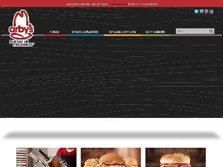 Arby's Restaurant (403-332-6273) - Website thumbnail - https://www.arbys.com