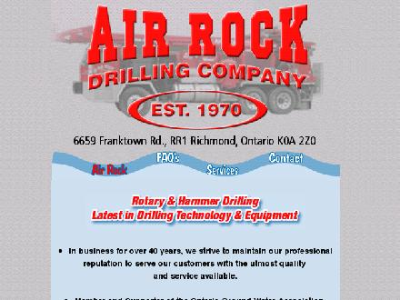 Air Rock Drilling Co Ltd (613-275-2980) - Onglet de site Web - http://www.air-rockdrilling.com