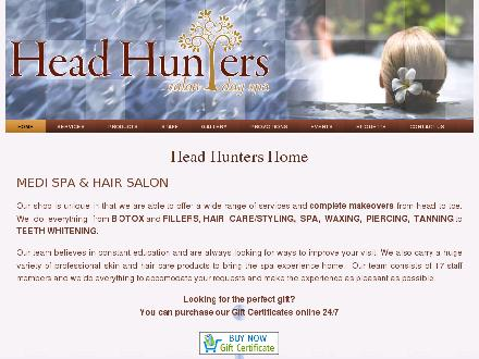 Head Hunters Day Spa &amp; Salon (403-786-0982) - Website thumbnail - http://www.headhunterssalon.ca