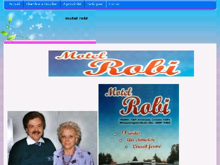 Motel Robi (819-536-2629) - Website thumbnail - http://www.motelrobi.com/