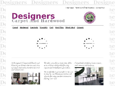 Designer's Carpet And Hardwood Flooring (905-290-1515) - Website thumbnail - http://www.designerscarpet.com