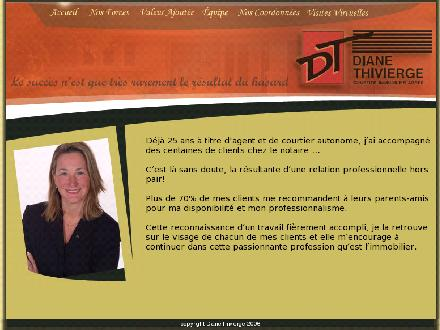 Diane Thivierge (418-622-8067) - Website thumbnail - http://www.dianethivierge.com