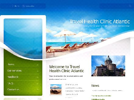 Travel Health Clinic Atlantic (506-386-8747) - Onglet de site Web - http://www.travelhealthatlantic.ca