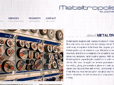 Metaltropolis Supplies Ltd (604-460-0602) - Onglet de site Web - http://www.weldbc.com