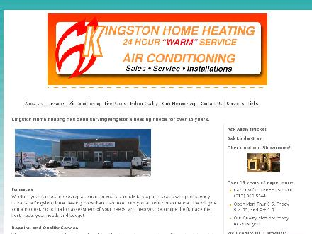 Kingston Home Heating (613-417-0744) - Onglet de site Web - http://www.kingstonhomeheating.com