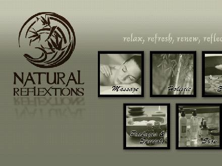 Natural Reflextions Day Spa (604-814-1301) - Website thumbnail - http://www.naturalreflextions.com
