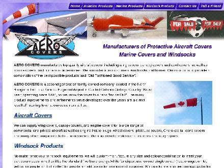 Aero Covers (705-487-2126) - Website thumbnail - http://www.aerocovers.com