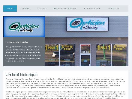 Opticien Denis (819-801-1248) - Website thumbnail - http://www.opticiendenis.com