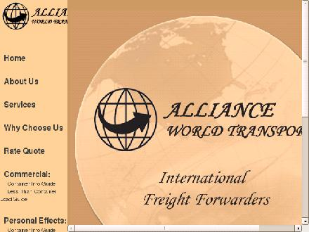 Alliance World Transport Inc (902-445-4125) - Website thumbnail - http://www.allianceworldtransport.com