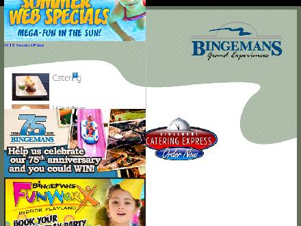 Bingemans (519-744-1555) - Website thumbnail - http://www.bingemans.com