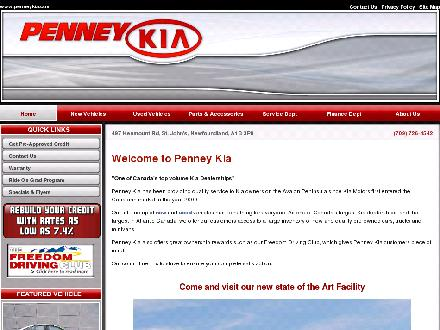 Penney KIA (709-726-4542) - Onglet de site Web - http://www.penneykia.com
