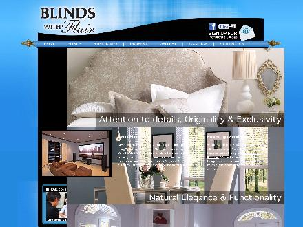 Blinds with Flair (613-733-6151) - Website thumbnail - http://www.blindswithflair.com