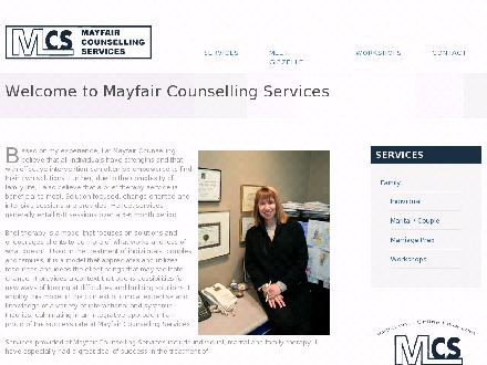 Mayfair Counselling Services (403-259-8301) - Onglet de site Web - http://www.mayfaircounselling.com