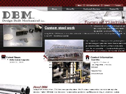 Design Built Mechanical Inc (1-888-202-6695) - Onglet de site Web - http://www.dbminc.ca