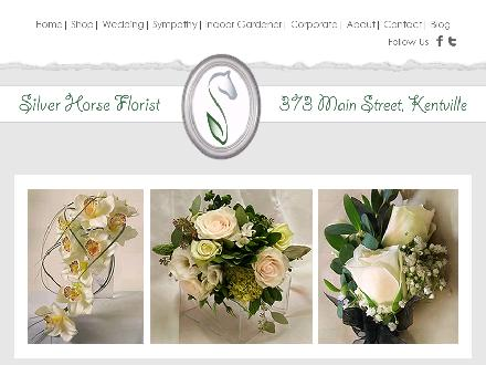 Silver Horse Florist (902-678-4728) - Website thumbnail - http://www.silverhorseflorist.com