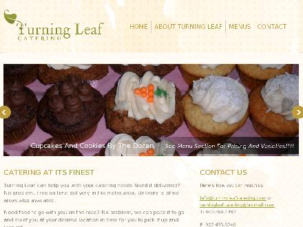 Turning Leaf Catering (902-704-2960) - Onglet de site Web - http://www.turningleafcatering.com