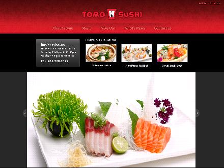Tomo Japanese Restaurant (905-770-2129) - Website thumbnail - http://www.tomosushi.ca
