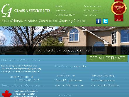 Class A Service Ltd (204-272-9725) - Onglet de site Web - http://www.classaservice.com