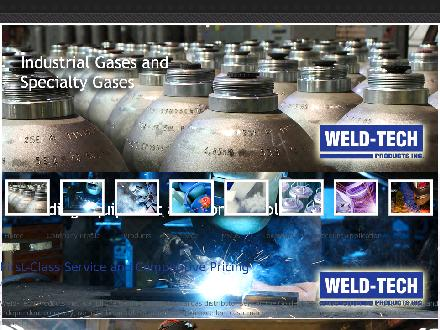 Weld Tech Products Inc (289-799-1361) - Website thumbnail - http://www.weld-techproducts.com