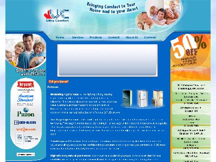 Ultra Comfort Inc (289-814-4894) - Website thumbnail - http://www.ultracomfort.ca