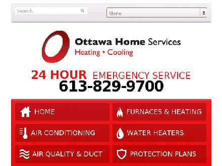 Ottawa Home Services (613-829-9700) - Website thumbnail - http://www.ottawahomeservices.ca