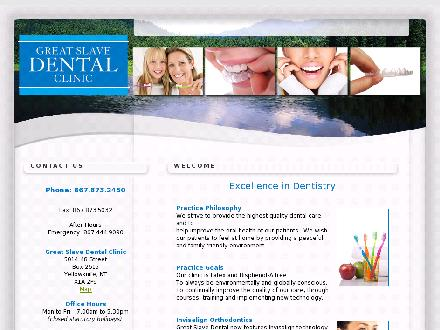 Great Slave Dental Clinic (867-873-2450) - Onglet de site Web - http://www.greatslavedental.com