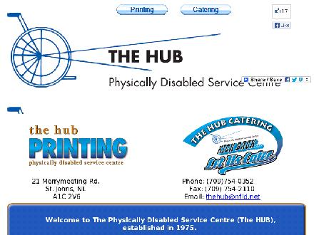 Hub The (709-754-0352) - Website thumbnail - http://www.hubstjohns.com