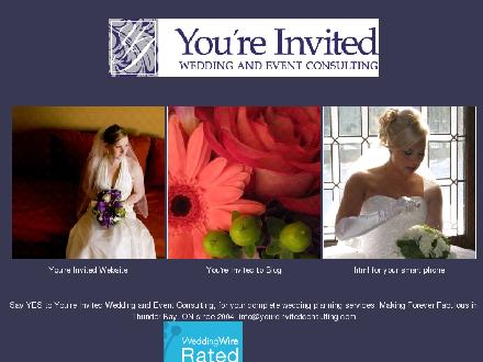 You're Invited (807-251-2131) - Onglet de site Web - http://www.youreinvitedconsulting.com