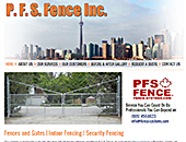PFS Fence Inc (905-858-8167) - Website thumbnail - http://www.fence-systems.com