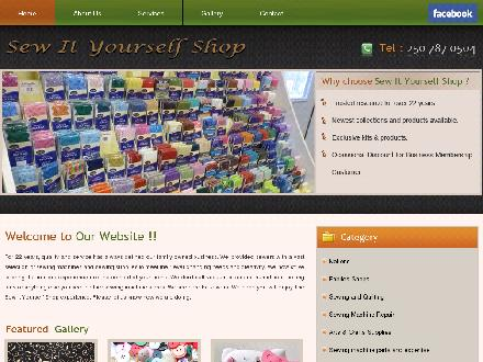 Sew It Yourself Shop (250-787-0504) - Website thumbnail - http://www.sewityourselfshop.com