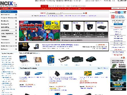 Ncix.com - Website thumbnail - http://www.ncix.com