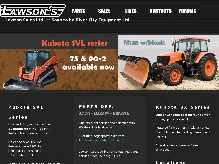Lawson's Sales (1990) Ltd (204-633-1293) - Onglet de site Web - http://www.lawsonssales.com