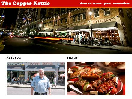 Copper Kettle Restaurant The (306-525-3545) - Onglet de site Web - http://www.ckpizza.ca