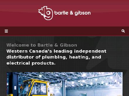 Bartle &amp; Gibson Company  Limited  (780-472-2850) - Website thumbnail - http://www.bartlegibson.com