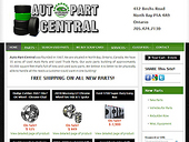 Auto Part Central (1-877-409-1999) - Website thumbnail - http://www.autopartcentral.ca