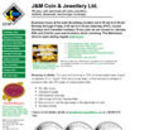 J & M Coin & Jewellery (604-695-1654) - Website thumbnail - http://www.jandm.com
