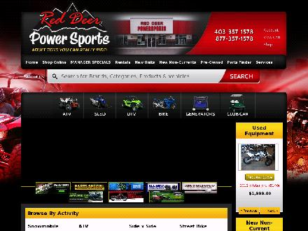 Red Deer Power Sports (403-357-1578) - Onglet de site Web - http://www.reddeerpowersports.com