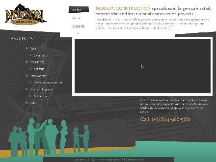 Norson Construction Ltd (250-769-9324) - Website thumbnail - http://www.norson.com