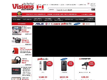 Visions.ca - Onglet de site Web - http://www.visions.ca
