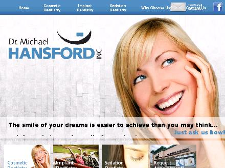 Hansford Michael Dr (250-374-2615) - Website thumbnail - http://www.smilekamloops.com