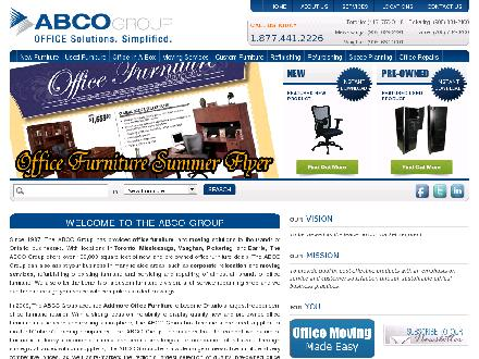ABCO Office Moving & Installations (647-931-9331) - Website thumbnail - http://www.abcogroup.ca