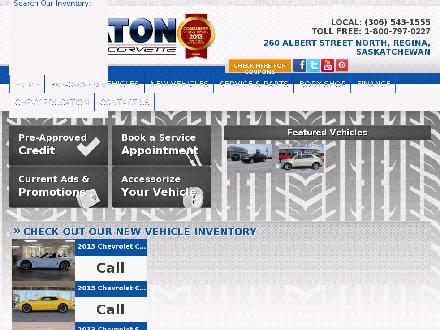 Wheaton Chevrolet (306-543-1555) - Website thumbnail - http://www.wheatonchev.com