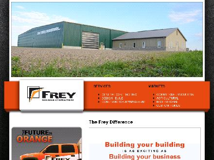 Frey Building Contractors (519-699-4641) - Website thumbnail - http://www.freybc.com